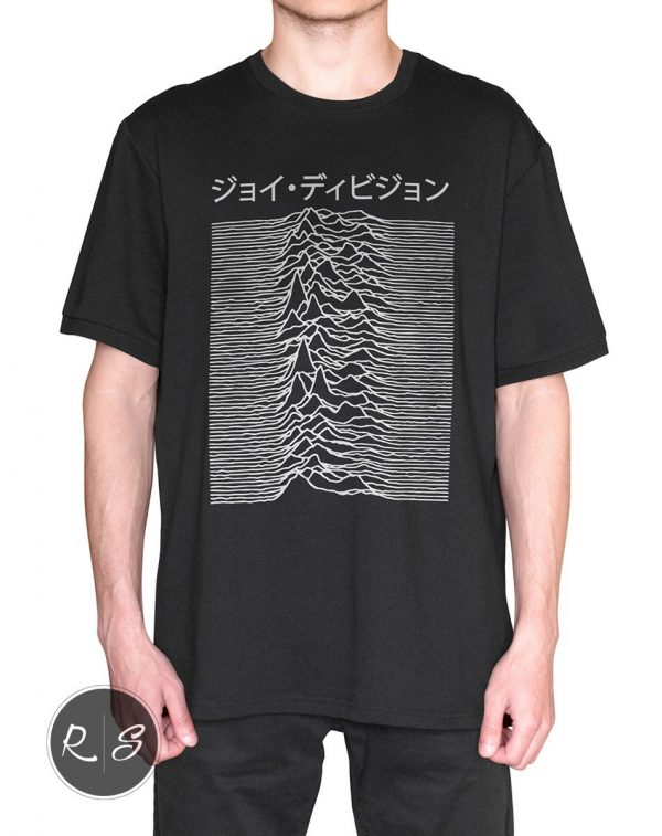 Japanese T-Shirt -Joy Division Used on Unknown Pleasures