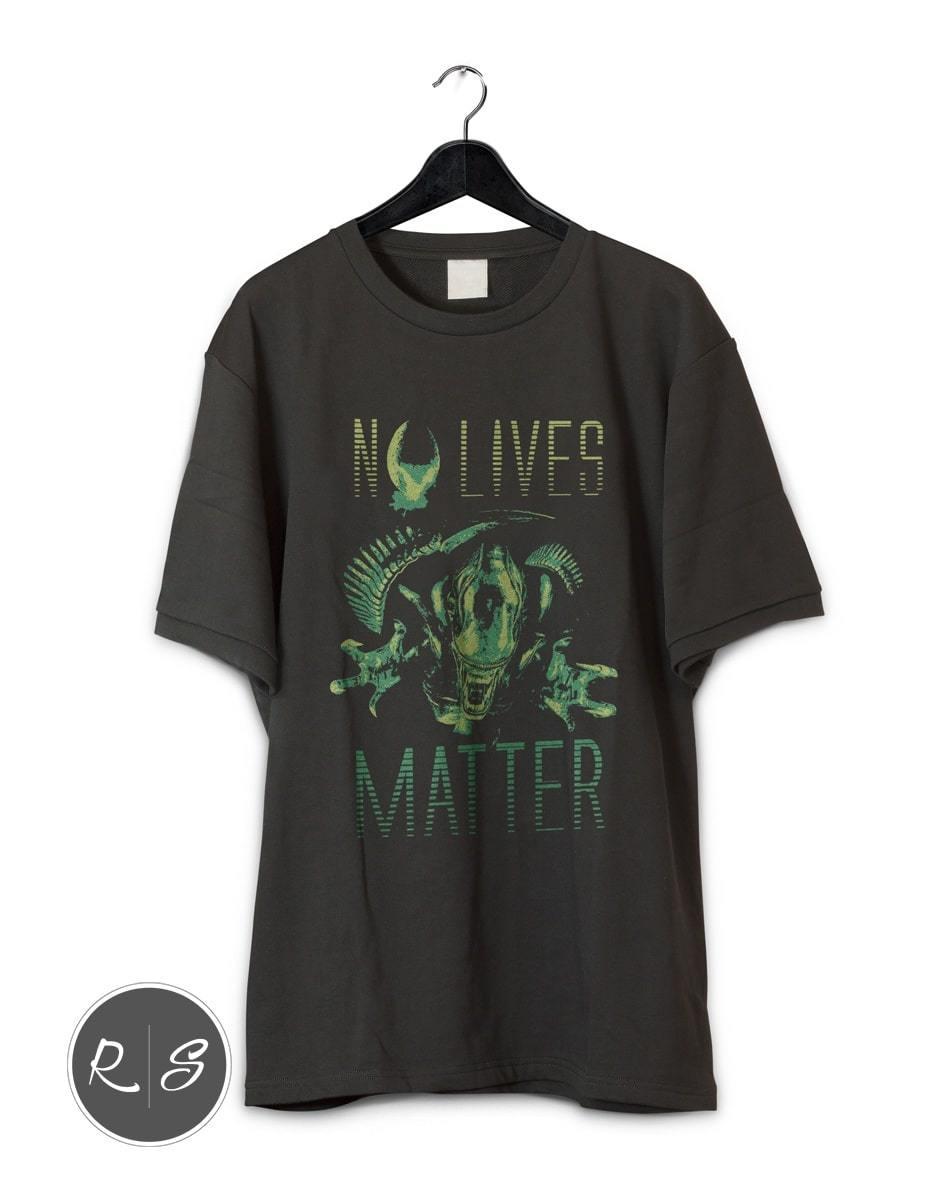 No Lives Matter- Aliens Xenomorph Alien Covenant T-Shirt