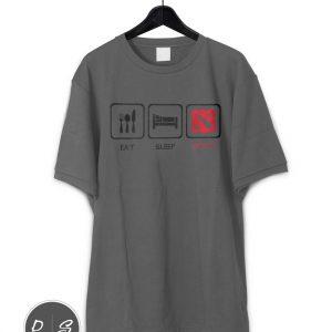 Defense Of The Ancients- Eat Sleep Dota T-Shirt