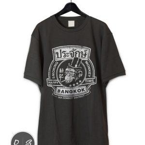 Bangkok Smoking Monkey T-Shirt