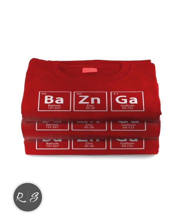 Bazinga Chemical Element Big Bang T-Shirt