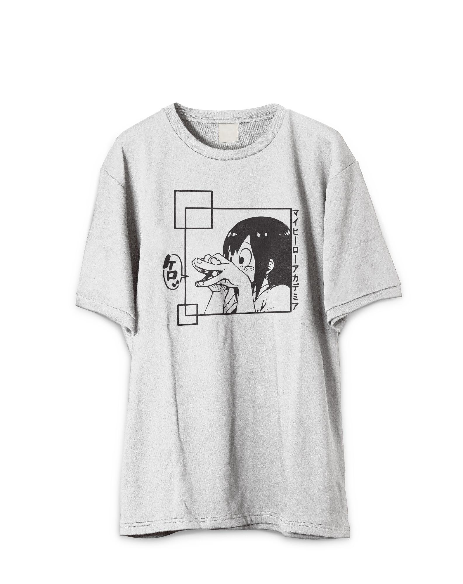 Japanese Tsuyu My Hero Froppy Ribbit T-Shirt