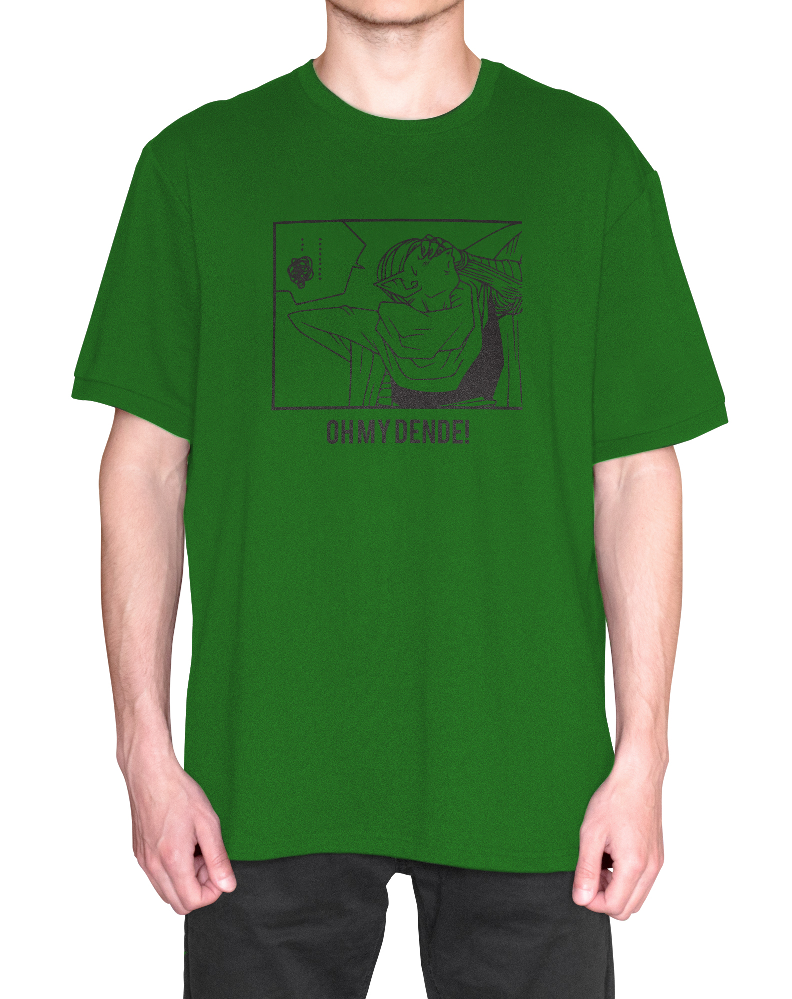 Oh My Dende Piccolo Namekian Anime T-Shirt