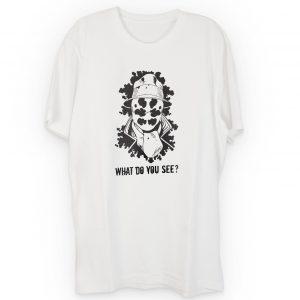 Rorschach What Do You See Noir Comic T-Shirt