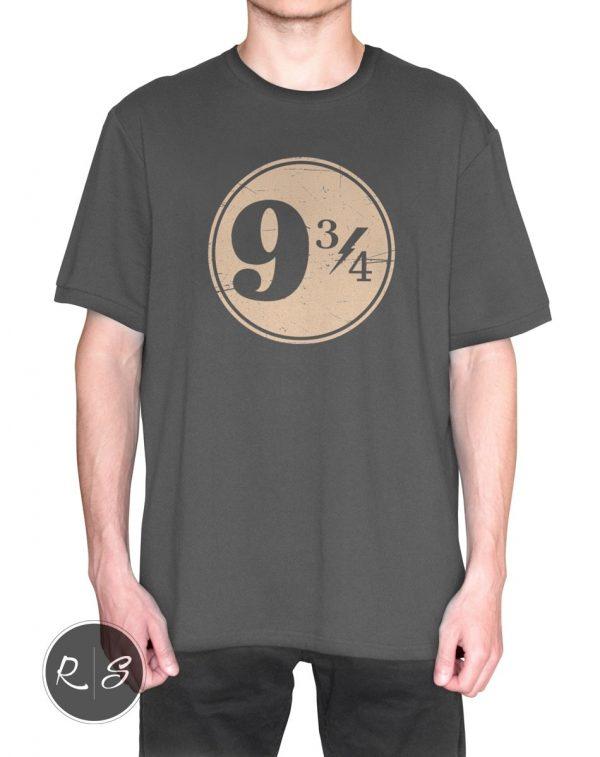 9 3/4 Nine Three Quarters Harry Potter Hogwarts T-Shirt