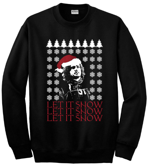 Jon Snow Let It Snow GoT Ugly Christmas Sweater