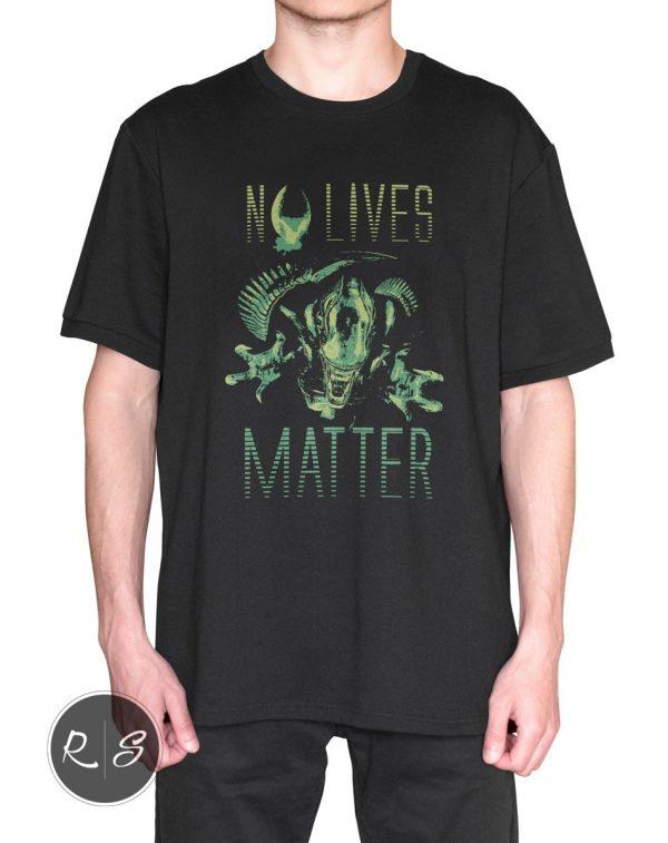 Alien vs Predator - No Lives Matter - Body Front-min