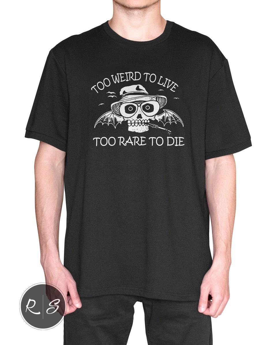 Gonzo Fear and Loathing In Las Vegas T-Shirt - Body Front-min