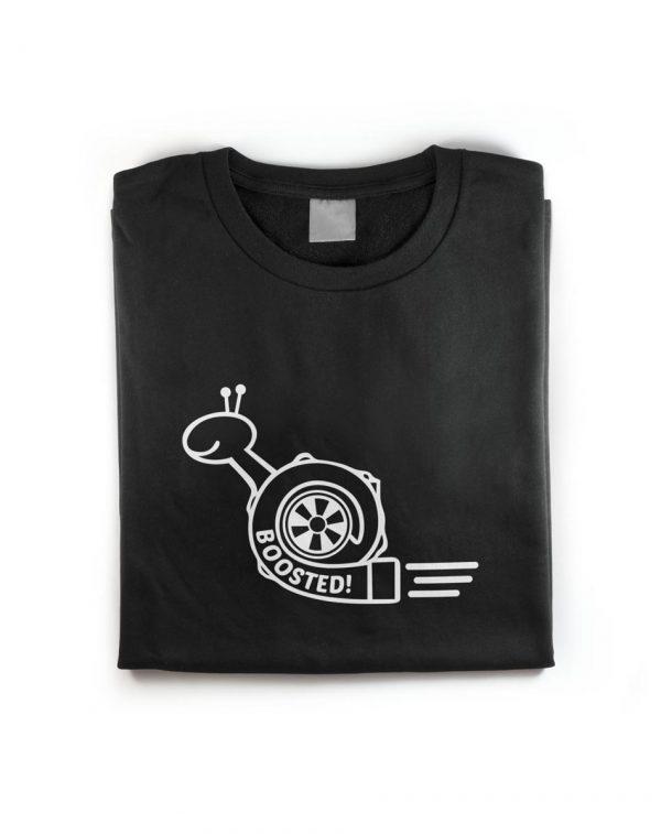 Turbo Charger Snail Got Boost T-Shirt Shot2